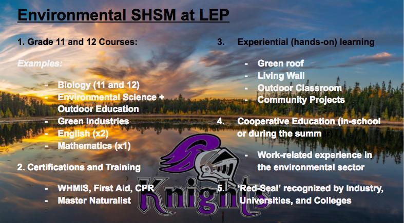 Environmental SHSM Pic