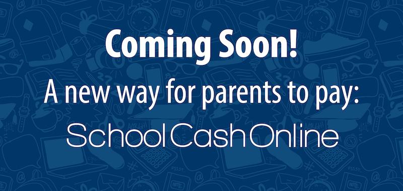 School Cash Online Website Banner:Button