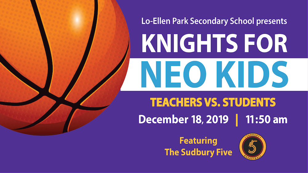 Knights for Neo Kids Basketball Game